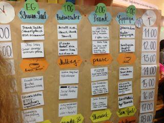 Sessionplan zum stARTcamp Köln 2013